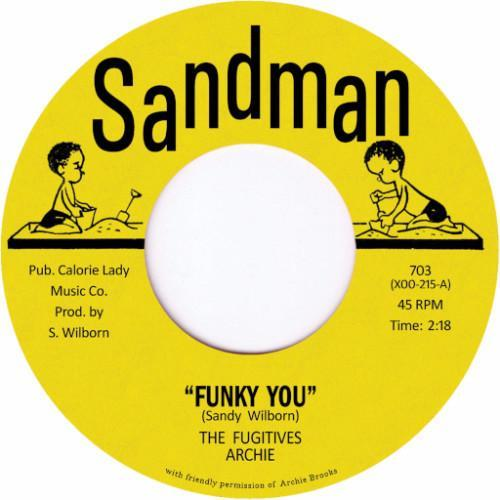 "The Fugitives – Funky You / Love Come Down (Vinyl 7"")"