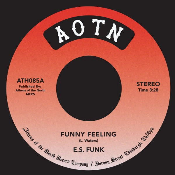 "E.S. Funk ‎– Funny Feeling / Shake Your Body (At The Disco) (Vinyl 7"")"