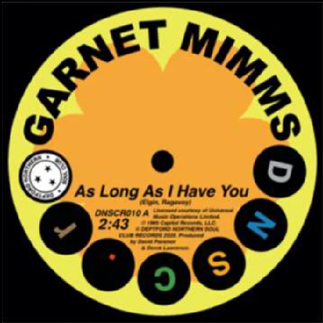 "Garnet Mimms ‎– As Long As I Have You (Vinyl 7"") [PREORDER]"
