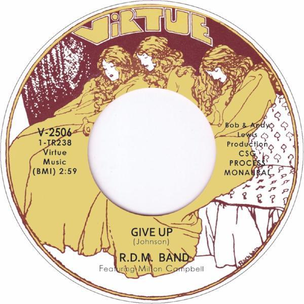 "R.D.M. Band - Give Up (Vinyl 7"")"