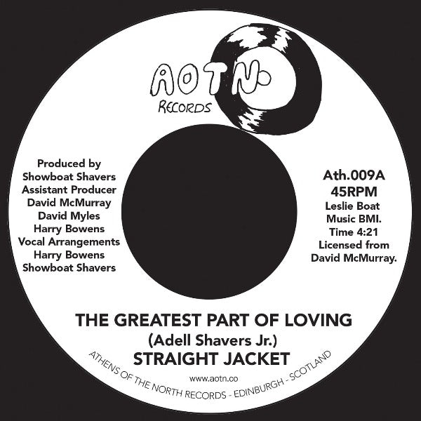 "Straight Jacket ‎– The Greatest Part Of Loving (Vinyl 7"")"