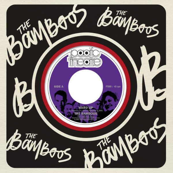 "The Bamboos - Hard Up / Ride On Time (Vinyl 7"")"