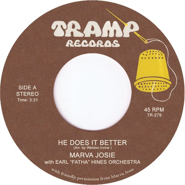 "Marva Josie ‎– He Does It Better (Vinyl 7"")"