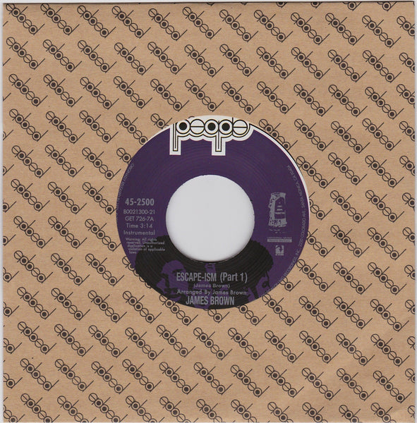 James Brown - Escapism (Vinyl 7'') - Rook Records