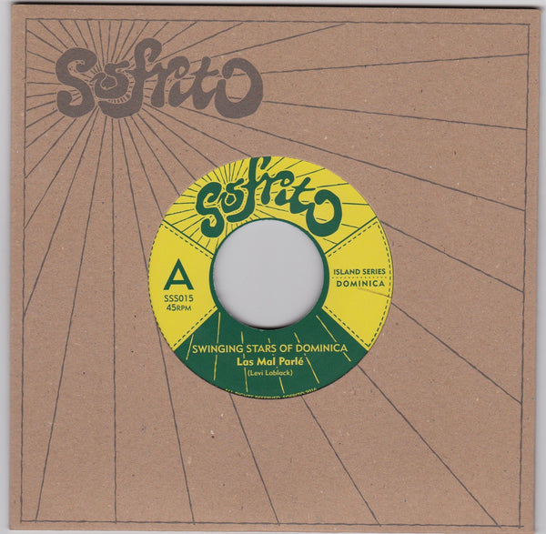 "The Swinging Stars Of Dominica/Swingin' Stars Orchestra – Las Mal Parle/Jam Jam (Vinyl 7"")"