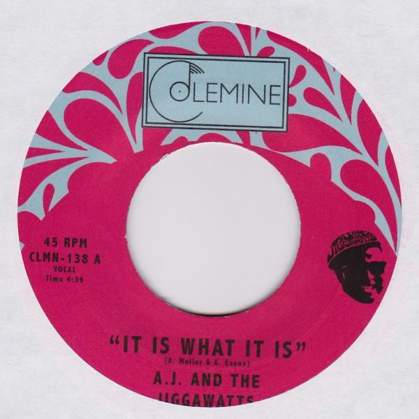 "A.J. And The Jiggawatts – It Is What It Is (Vinyl 7"")"