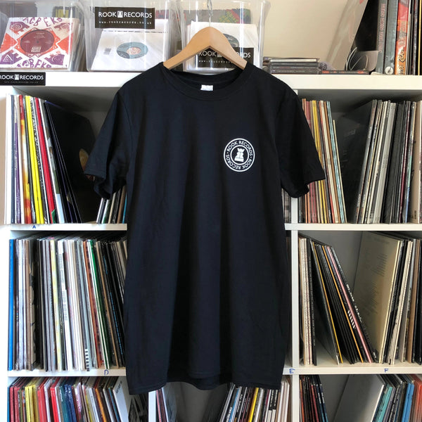 Rook Records T-Shirt Black