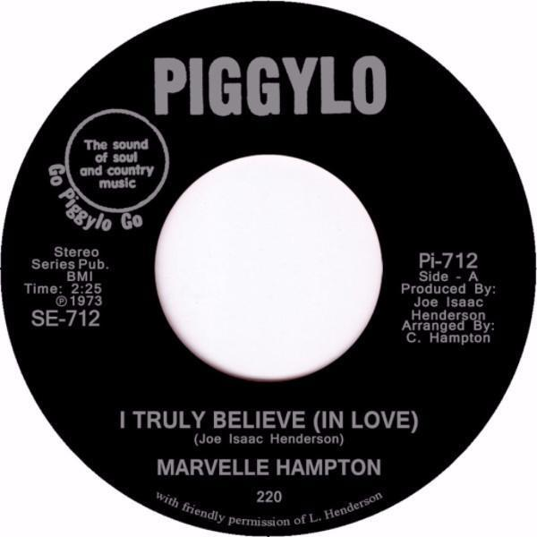 "Marvelle Hampton – I Know How It Feels (Vinyl 7"")"