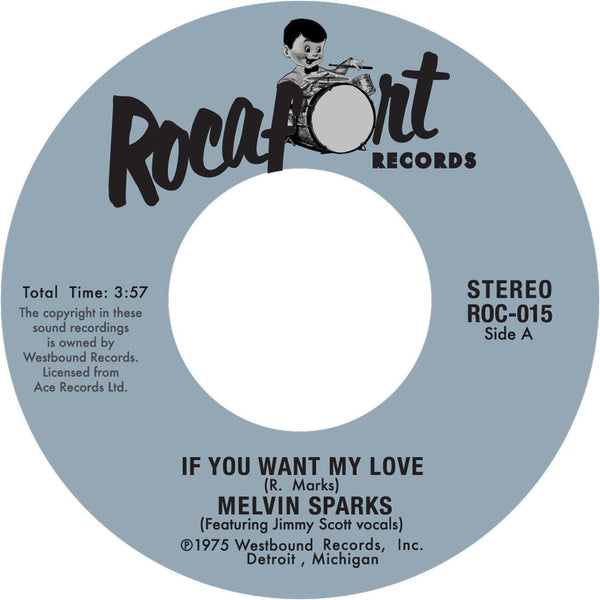 "Melvin Sparks - If You Want My Love (Vinyl 7"")"