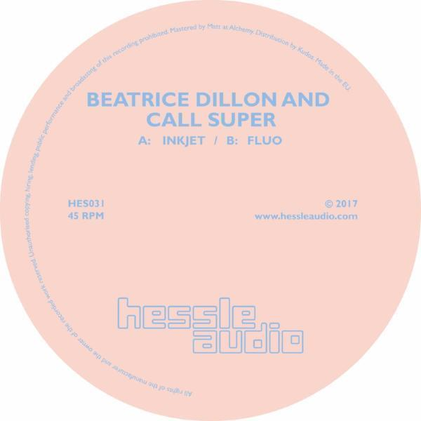 "Beatrice Dillon And Call Super ‎– Inkjet / Fluo (Vinyl 12"")"