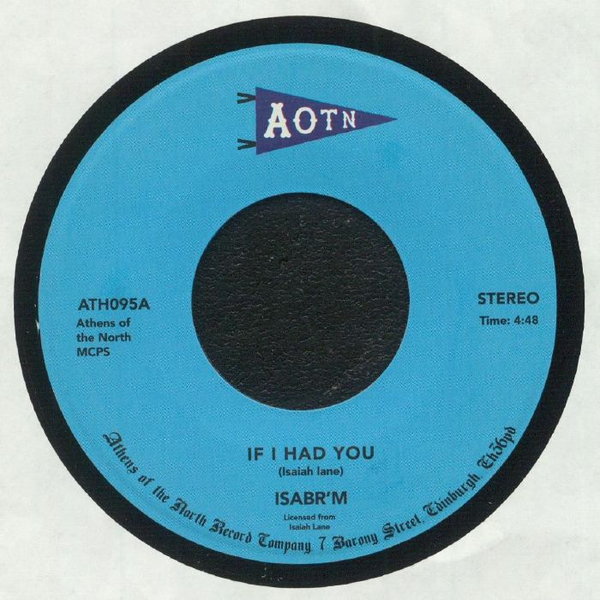 "Isabr'M ‎– If I Had You (Vinyl 7"")"