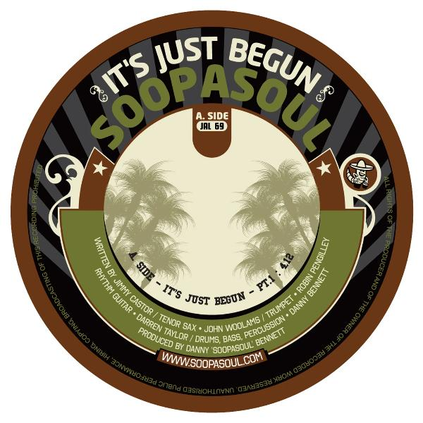 "Soopasoul - It's Just Begun (Vinyl 7"")"