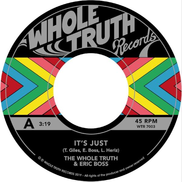 "The Whole Truth - It's Just... (Vinyl 7"")"