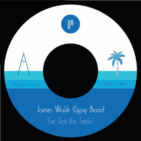 "James Walsh Gypsy Band - I've Got The Feelin (Vinyl 7"")"