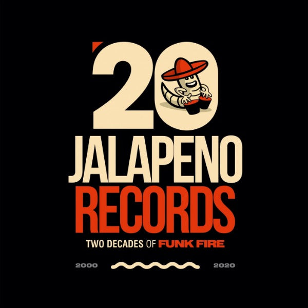 "Various ‎– Jalapeno Records: Two Decades Of Funk Fire (Vinyl 5 x 7"")"