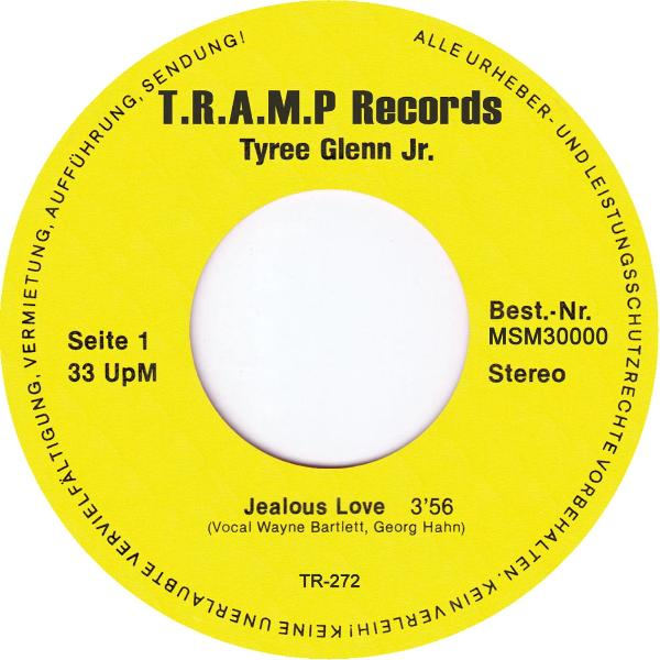 "Tyree Glenn, Jr. ‎– Jealous Love (Vinyl 7"")"