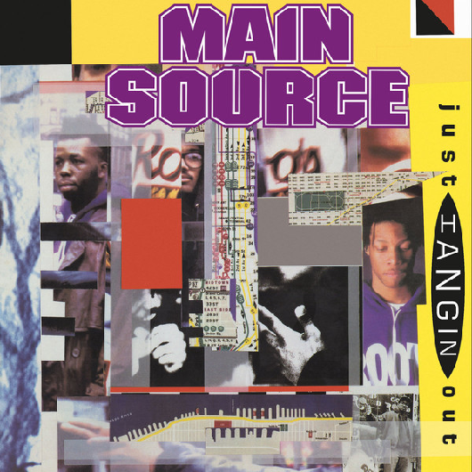 "Main Source ‎– Just Hangin' Out (Vinyl 7"")"