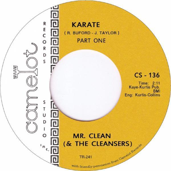 "Mr. Clean and the Cleansers - Karate (Vinyl 7"")"