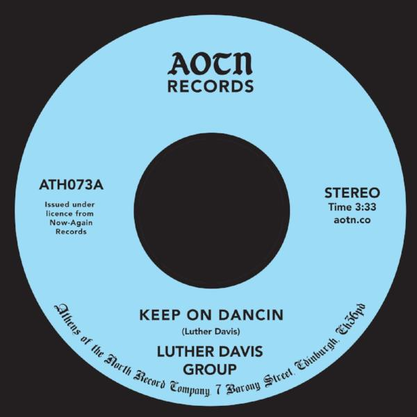 "Luther Davis Group - Keep on Dancin (Vinyl 7"")"