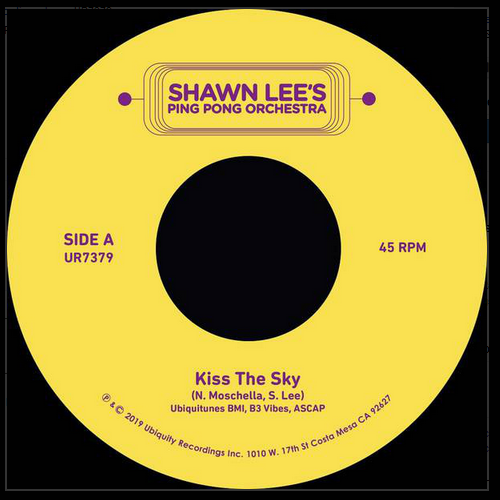 "Shawn Lee's Ping Pong Orchestra ‎– Kiss the Sky (Vinyl 7"")"