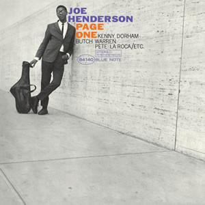 Joe Henderson - Page One (Vinyl LP) - Rook Records
