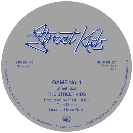 "Street Kids - Game No. 1/ Last Night You Moved Me (Vinyl 12"")"