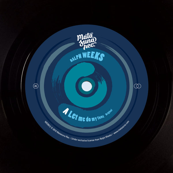 "Ralph Weeks - Let Me Do My Thing (Vinyl 7"")"