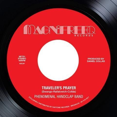 "Phenomenal Handclap Band ‎– Traveler's Prayer (Vinyl 7"")"
