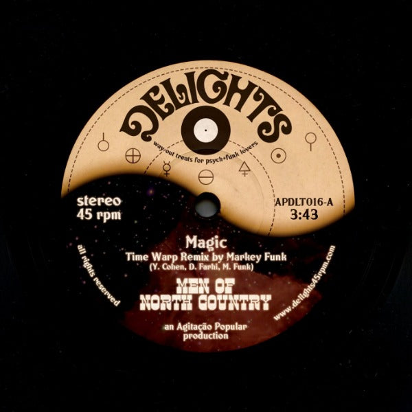 "Magic + Sparks - Men of North Country & 3421 (Vinyl 7"")"