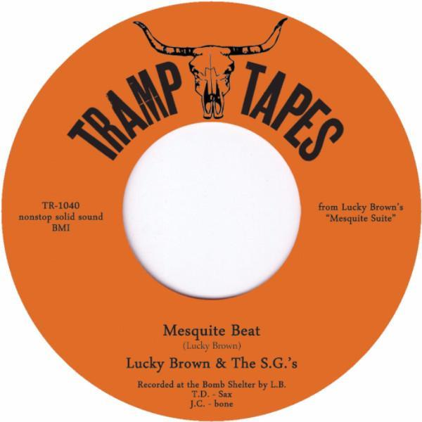 "Lucky Brown - Mesquite Beat (Vinyl 7"")"
