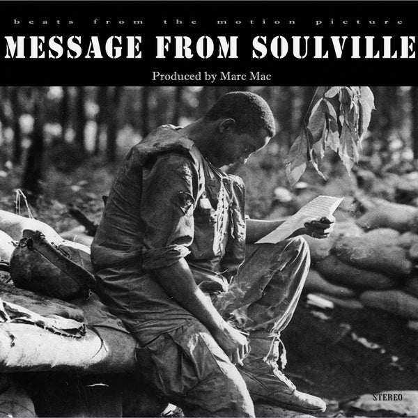 Marc Mac - Message From Soulville (Vinyl LP)