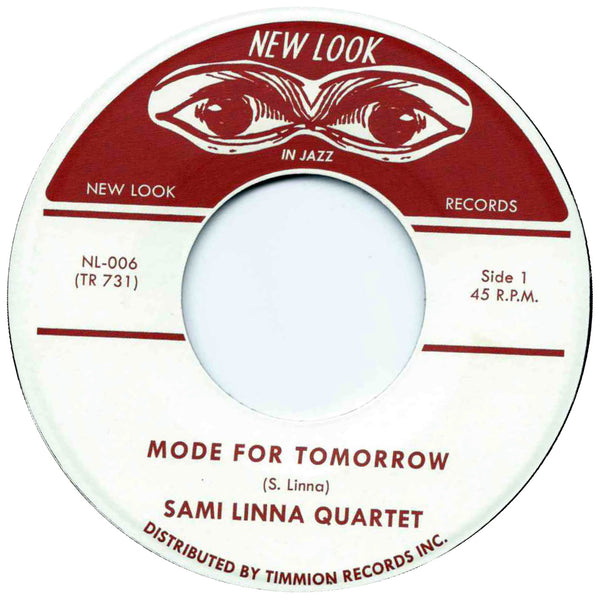 "Sami Linna Quartet - Mode for Tomorrow (Vinyl 7"")"