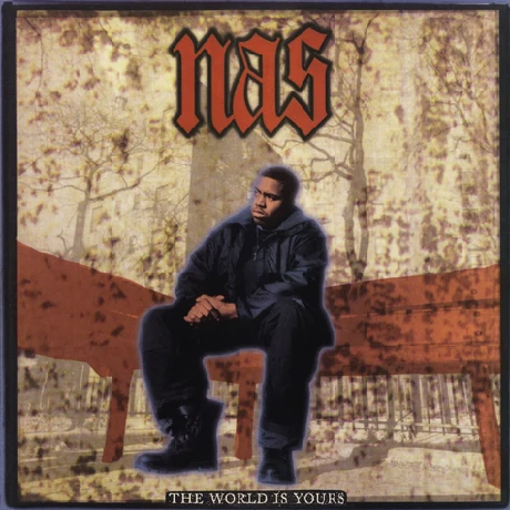 "Nas ‎– The World Is Yours (Vinyl 7"")"