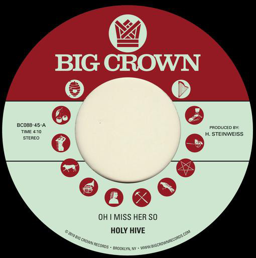 "Holy Hive ‎– Oh I Miss Her So (Vinyl 7"")"