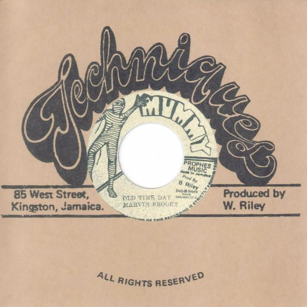 "Marvin Brooks – Old Time Day (Vinyl 7"")"