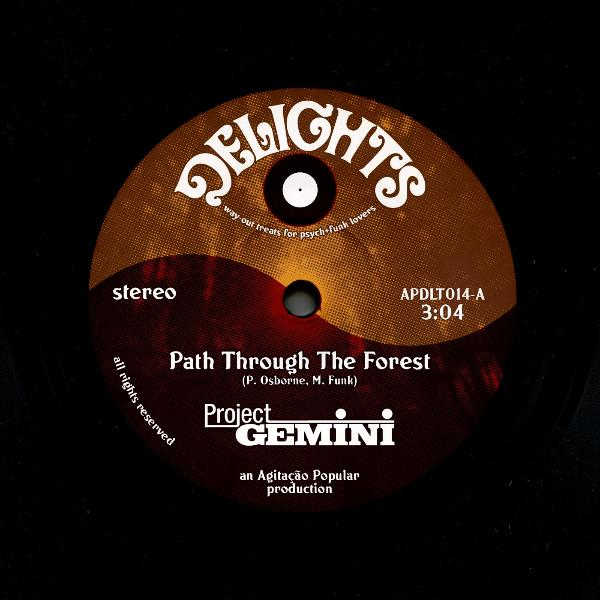 "Project Gemini ‎– Path Through The Forest (Vinyl 7"")"