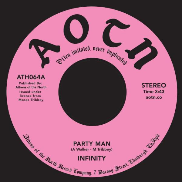 "Infinity – Party Man / Put Everything In Place (Vinyl 7"")"