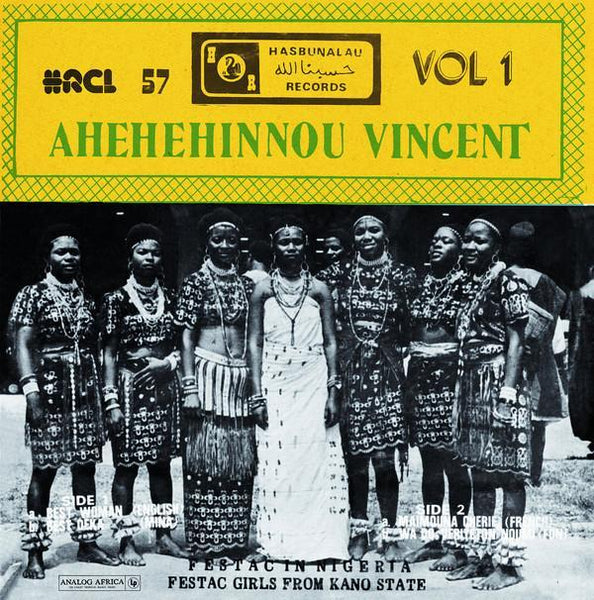 Ahehehinnou Vincent – Best Woman (Vinyl LP)
