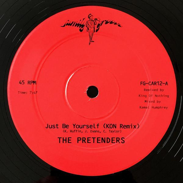 "The Pretenders – Just Be Yourself (Kon Remix) (Vinyl 12"")"