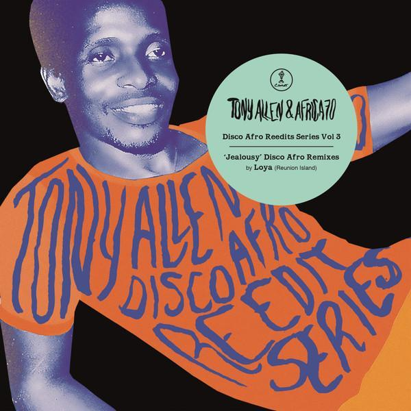 "Tony Allen & Africa 70 ‎– Jealousy Disco Afro Remixes (Vinyl 12"")"