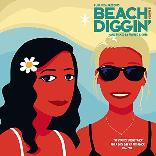 Various ‎– Pura Vida Presents: Beach Diggin' Vol. 5 (Vinyl 2LP)