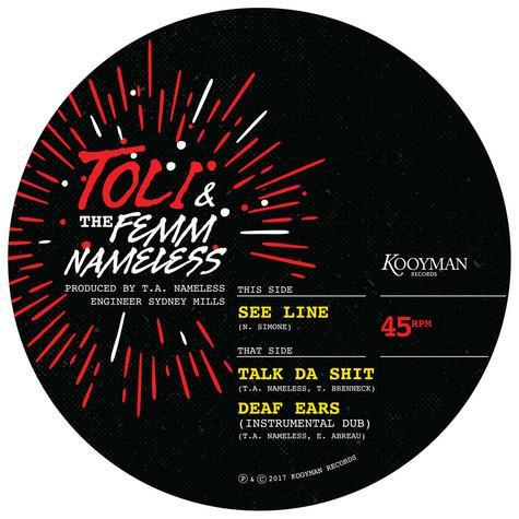 "Toli & The Femm Nameless ‎– See Line (Vinyl 10"")"
