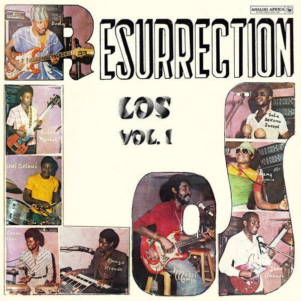 Los Camaroes ‎– Resurrection Los (Vinyl LP)