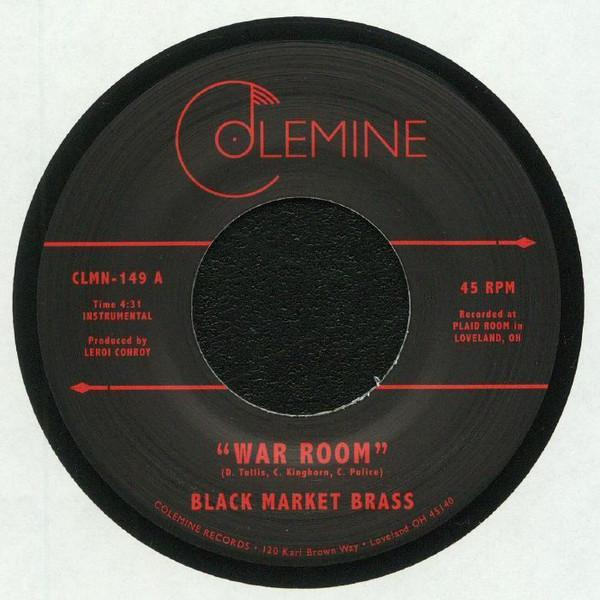 "Black Market Brass ‎– War Room (Vinyl 7"")"