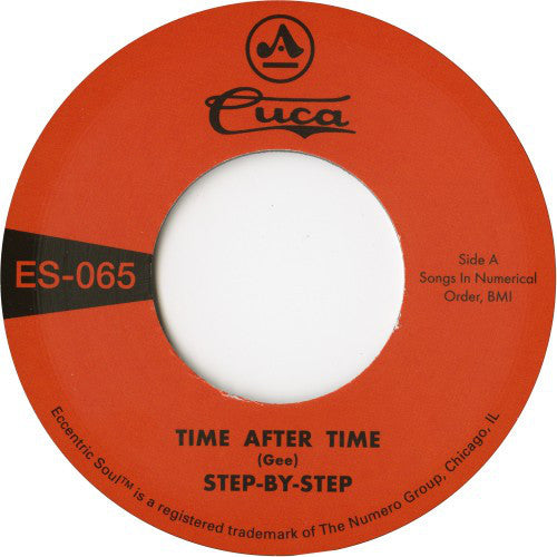 "Step-By-Step ‎– Time After Time / She's Gone (Vinyl 7"")"