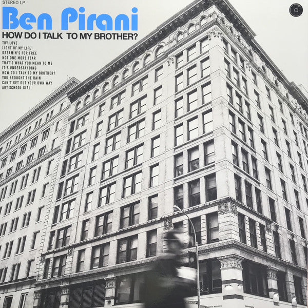 Ben Pirani ‎– How Do I Talk To My Brother? (Vinyl LP)