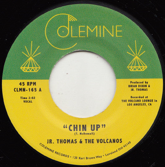 "Jr. Thomas & The Volcanos ‎– Chin Up (Vinyl 7"")"