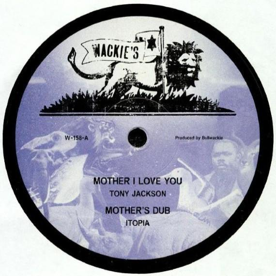 "Tony Jackson / Jah B ‎– Mother I Love You / Vampire (Vinyl 12"")"