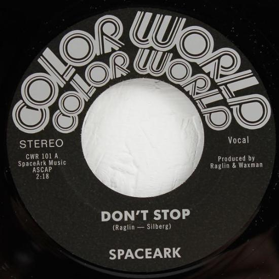 "Spaceark ‎– Don't Stop (Vinyl 7"")"