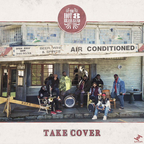 "Hot 8 Brass Band ‎– Take Cover (Vinyl 12"")"